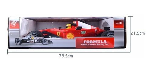rc car fórmula 1 escala 1: 6 control remoto.