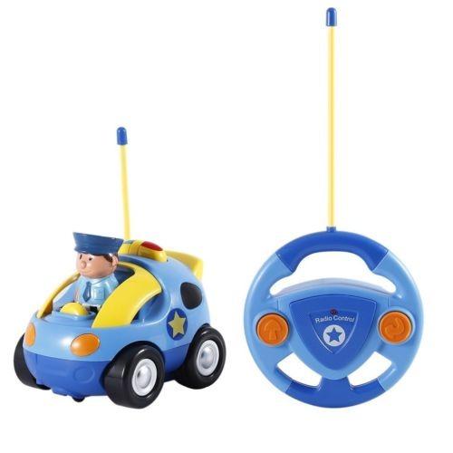Carrera Control Juguete Radio Rc Policía De3pcs Coche HIWE2eYbD9