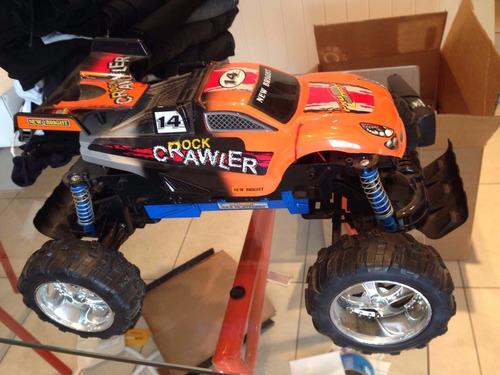 rc crawler pro dirt 1:10 controlado radio importado laranja