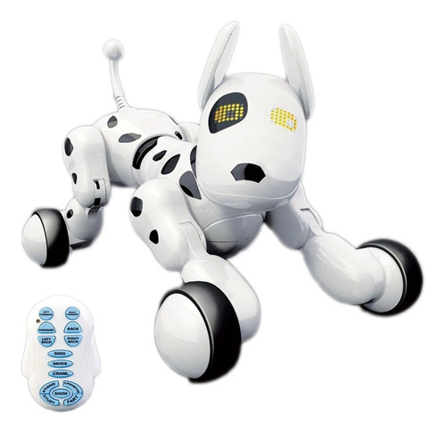 rc perro robot inteligente smart pet juguete electronico