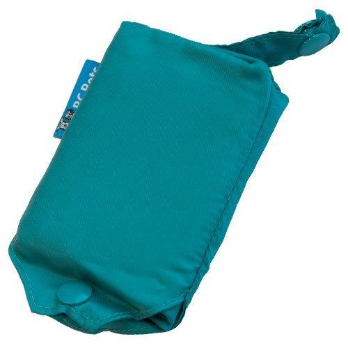 rc pet products poco voluminoso perro poncho de lluvia aqua