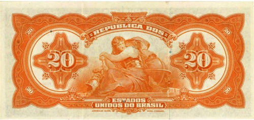 rc0282 r119d 20 mil réis tesouro nacional sob 1942 promoção