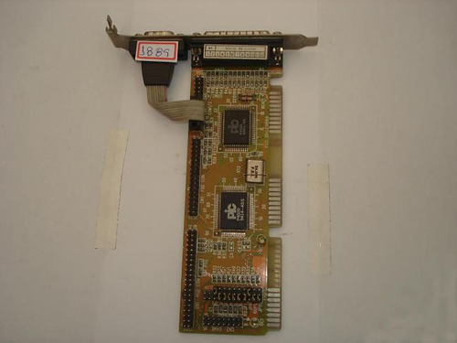 rc1889 - placa multiserial slot isa com jumpers