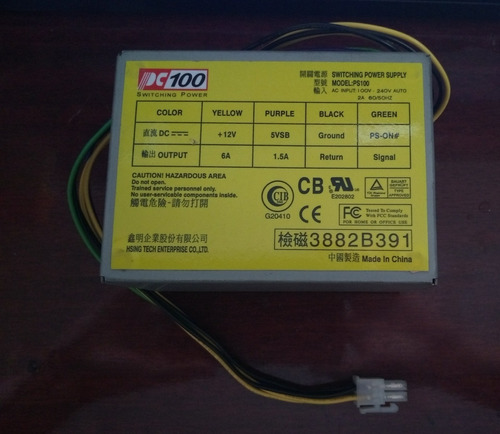 rc2583-mini fonte para micro compaq pc100