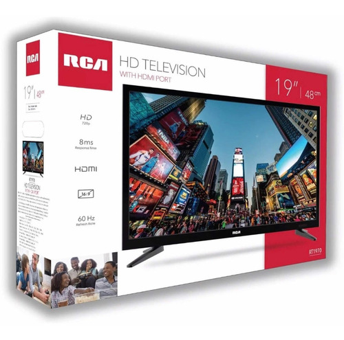 rca 19 led tv television high definition.