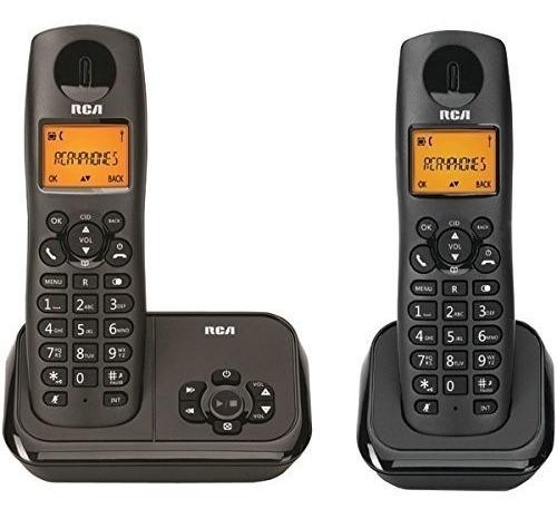 rca  2162-2bkga telefono inalambrico dect 6.0 con itad y 2-h