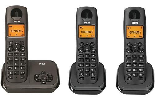 rca 2162-3bkga telefono fijo 3 auriculares