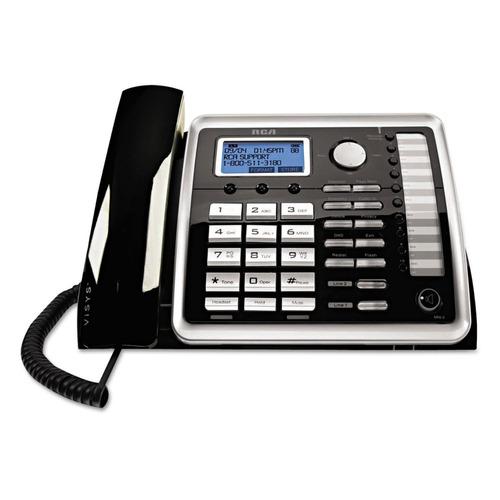 rca 25260 1 auricular 2-linea de telefono fijo
