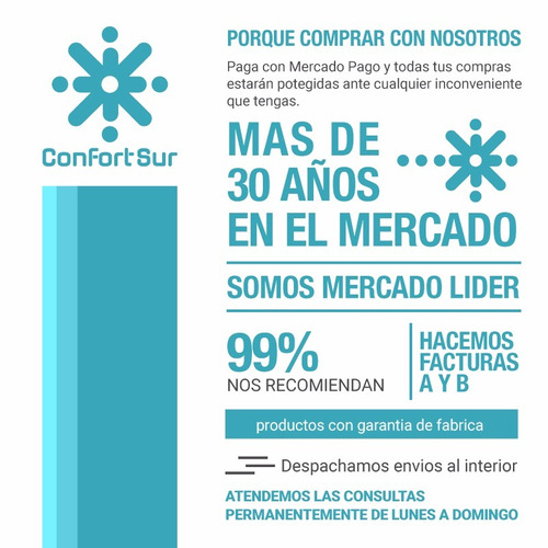 rca aire acondicionado split 3400w frio calor clase a **10