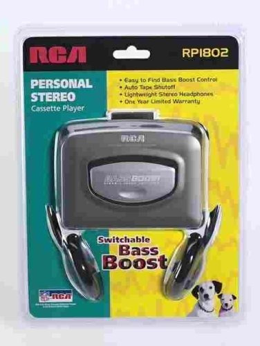 rca rp1804 drca personal stereocass silver