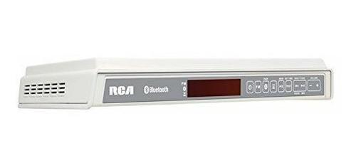 rca sps3688b bajo closet altavoz inalambrico con radio color