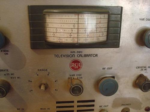 rca television calibrator wr-39. inicio dos anos 50.
