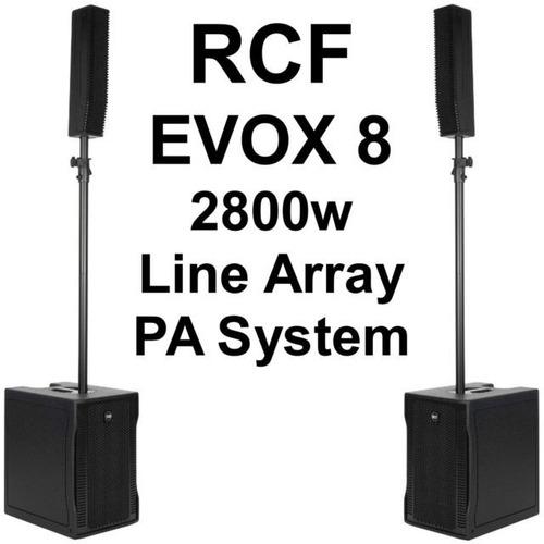 rcf evox 8 line array