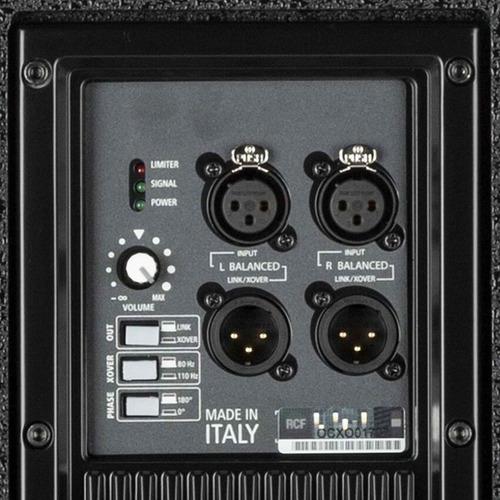 rcf sub 708 as ii subwoofer activo 1400 w potenciado oferta!