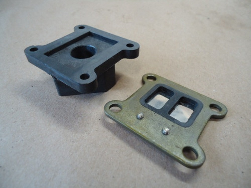 rcg 26cc reed block and manifold  hobbyline modelismo