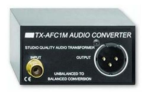 rdl tx-afc1 m transformador de audio