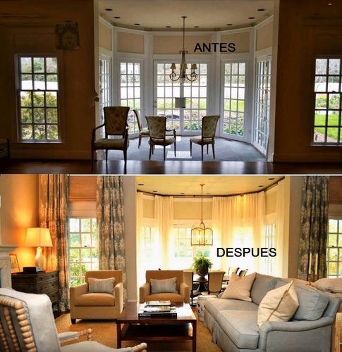 re-diseño y makeover a tu hogar