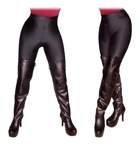 re sexys botas bucaneras con plataforma y taco aguja. talles - colores marca mundocross