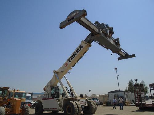 reach stacker contenedores llenos tfc45 2004