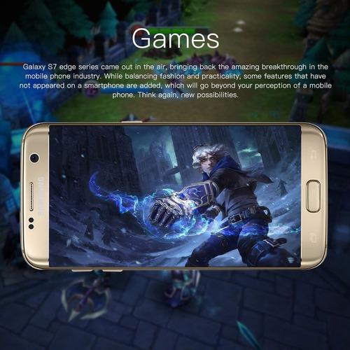 reacondicionado samsung galaxy s7 edge 5.5  smartphone 4g lt