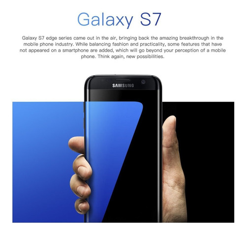 reacondicionado samsung galaxy s7 edge 5.5  smartphone 4g lt