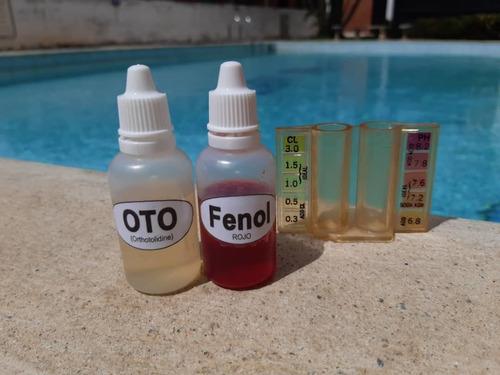 reactivos para ph y cloro piscinas