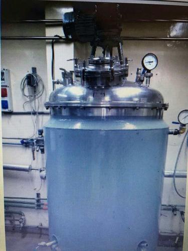 reactores de acero inoxidable con agitación y camisa 2011