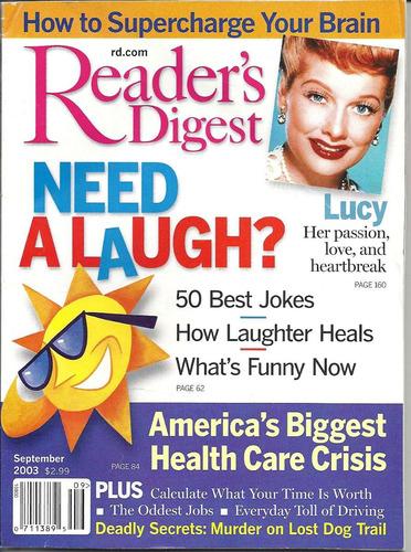 readers digest 2003: lucille ball / desi arnaz / jim carrey