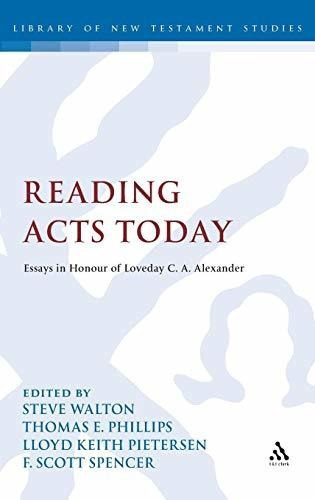 reading acts today : thomas e. phillips
