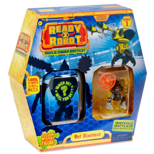 ready 2 robot crea robot sorpresa pack x2 (2328)