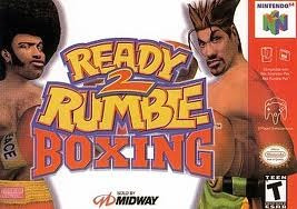 ready 2 rumble boxing - boxeo / nintendo 64 n64