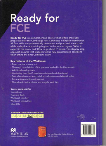 ready for fce workbook by roy norris book new in offer!