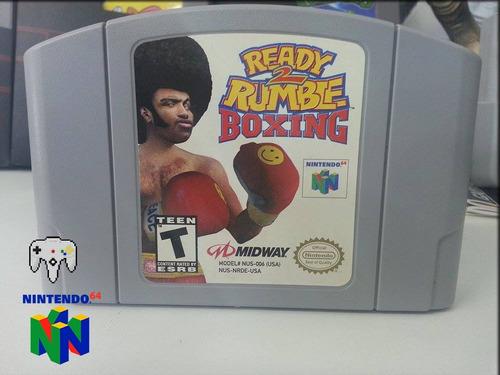 ready rumble 2 boxing - original n64