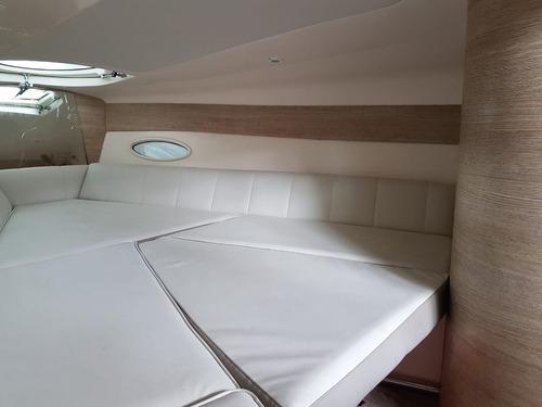 real 250 cabinada mercruiser 5.0 260 hp 2012 completa. caier
