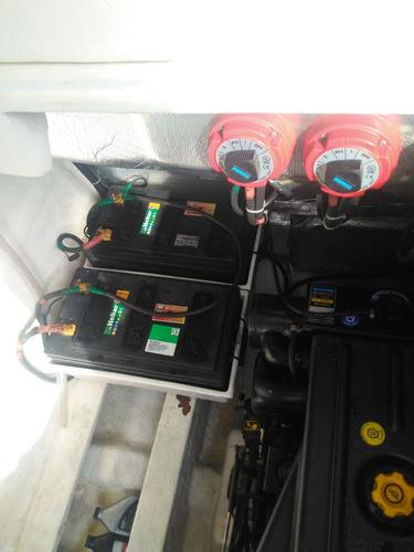 real class 31 mercruiser 4.2 200 hp diesel  cada 2010. caier