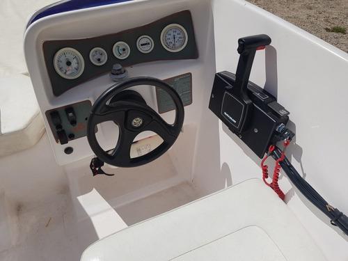 real eagle 18 pés motor mariner 100hp 1996 virtual nautica