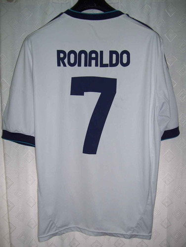 real madrid adidas 2012 #7 ronaldo cr7 talle m impecable