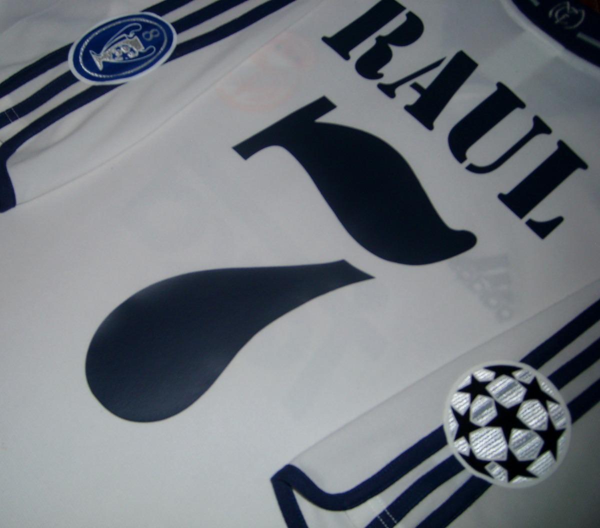 b65ed090201 real madrid adidas champions league 2001 raul gonzalez unica. Cargando zoom.