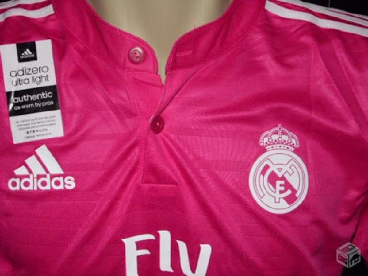 Carregando zoom... camisa do real madrid rosa p m g gg qualidade 100% e073c43725ab8