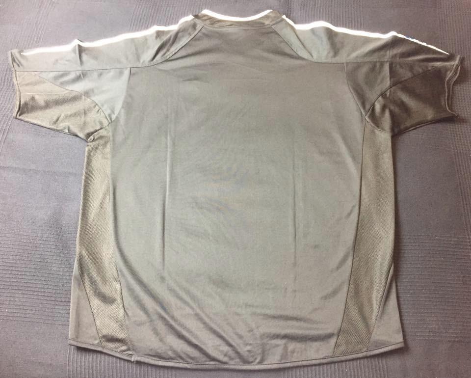 35905b10e Carregando zoom... camisa real madrid 2004-2005 away tam gg (75x63) otimo