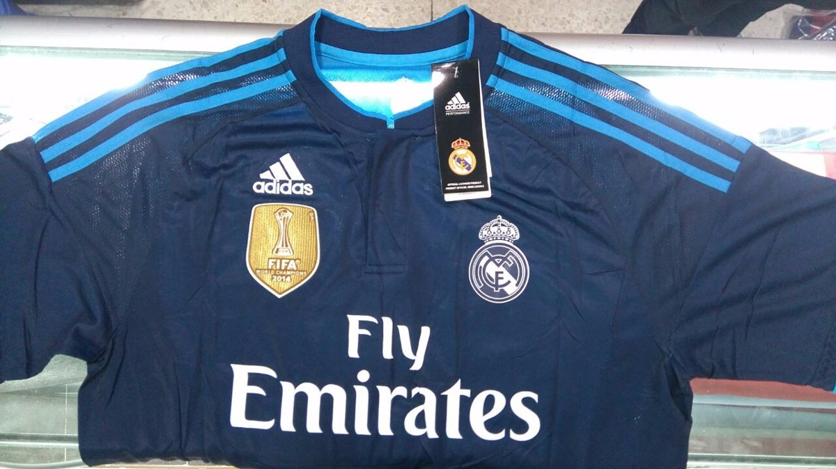 Camiseta Real Madrid Visitante Cr7 Original -   245.000 en Mercado Libre cf8bb9ae50311
