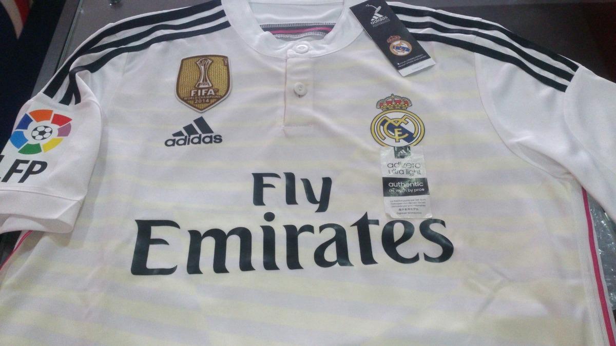 6de30a30b Camiseta Real Madrid 2014 2015 Liga Adizero Original 35% Dto ...
