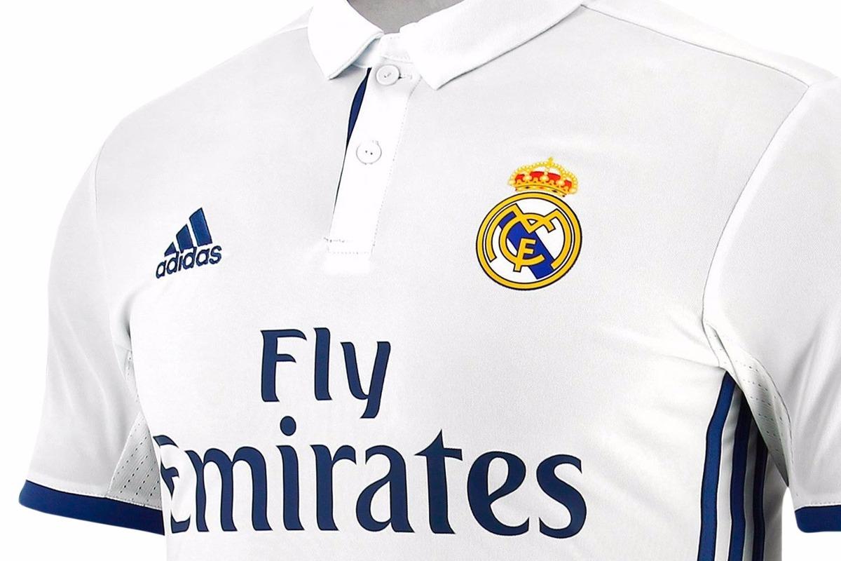 Camiseta adidas Real Madrid Oficial 2016 2017 -   1.300 2ac5e730903ff