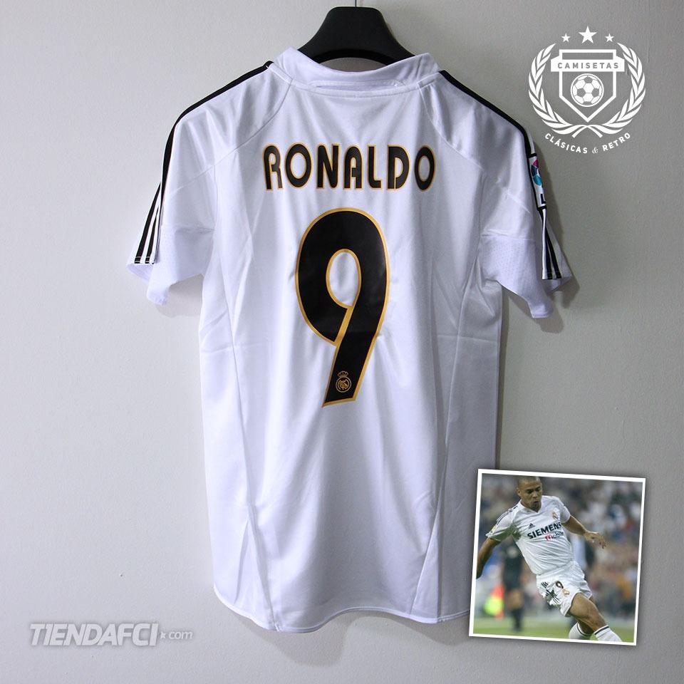 1cc0011416948 Cargando zoom... camiseta real madrid retro adidas original beckham ronaldo