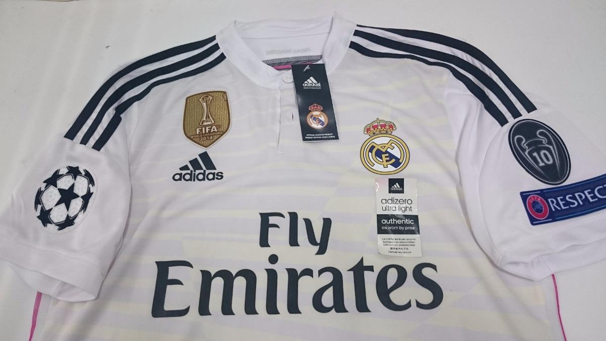 ca5819013a362 Cargando zoom... camiseta real madrid 2014 2015 champions league adizero