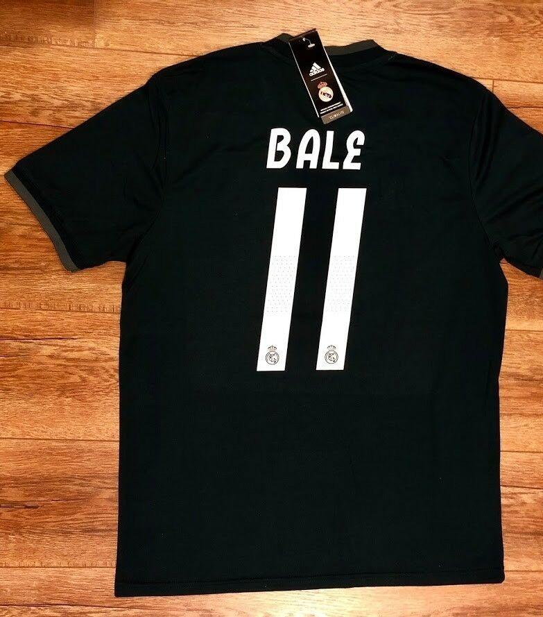50e5060b7fd0c Camiseta Fútbol Real Madrid 2018 2019 Visita Negra Nuevas -   21.500 ...