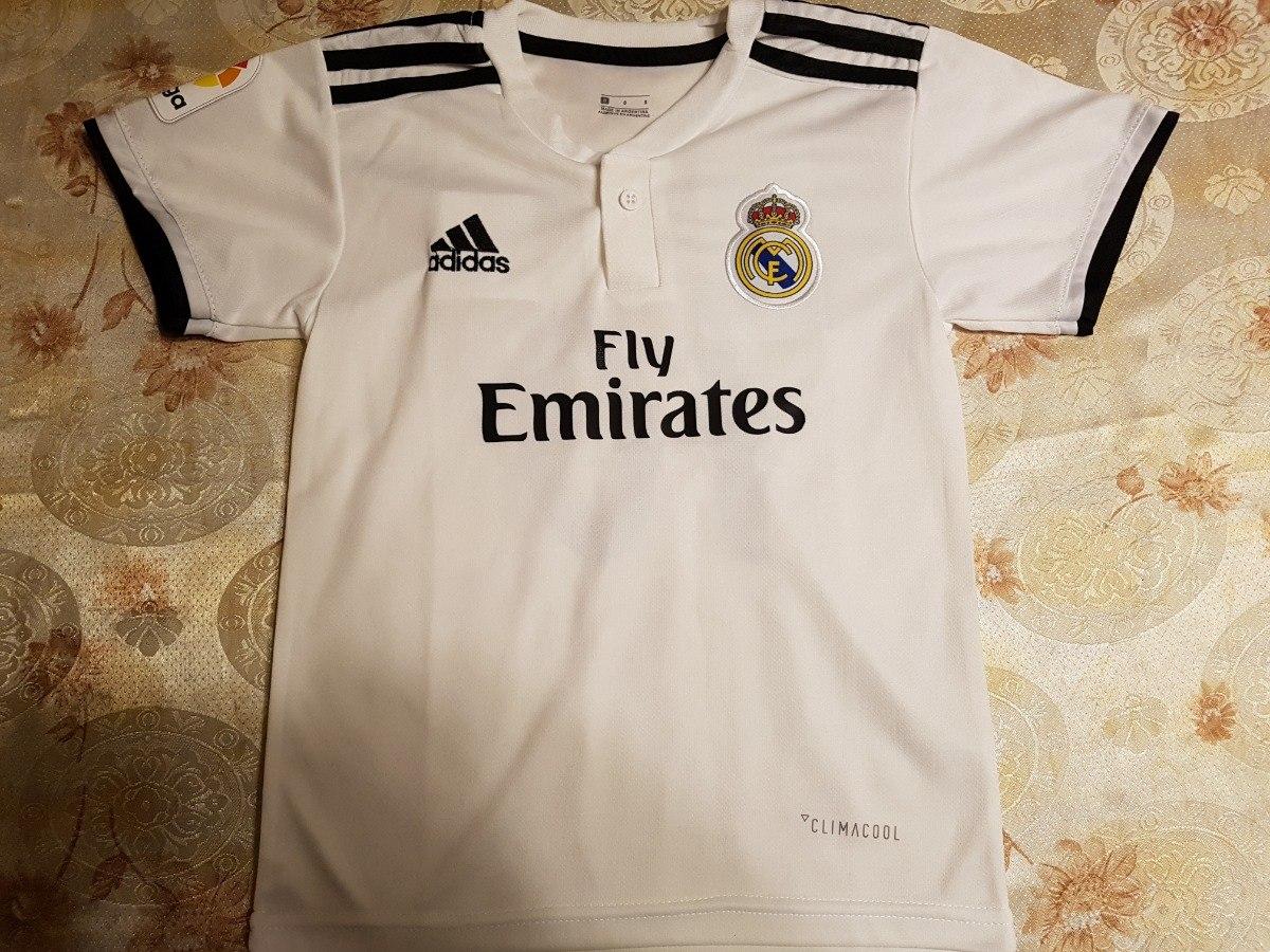 Real Madrid Camiseta Niño 2018 Modric. La Mejor Calidad -   490 d725575a67e31