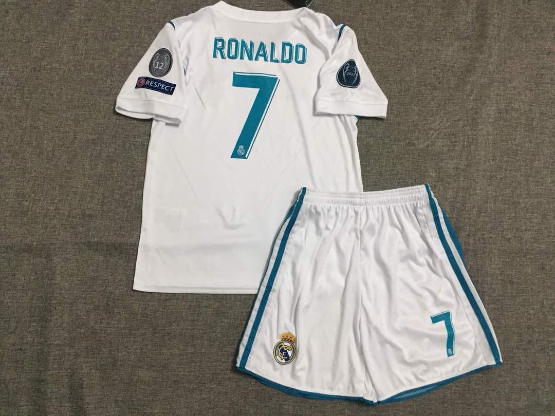 Camiseta Y Short Niño Ronaldo Real Madrid 2 A 3 Años -   20.000 en ... 78a36a01d7548