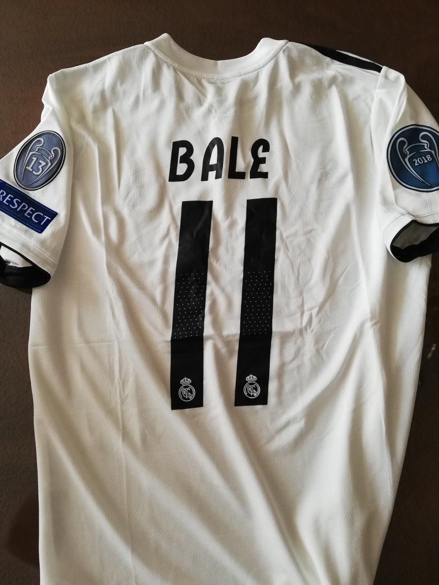 Jersey Real Madrid adidas Temporada 2018-2019 Uefa Parches ... 0257fc5b1db3d