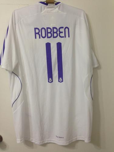 super popular 19b1e 9d92c Jersey Real Madrid, adidas, Talla Xl, Robben 11, M/c - $ 1,499.00